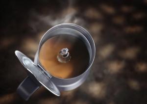 Espresso kochen mit dem Espressokocher für Induktion