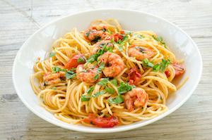 Bei Spaghettigerichten kann man seiner Fantasie freien lauf lassen
